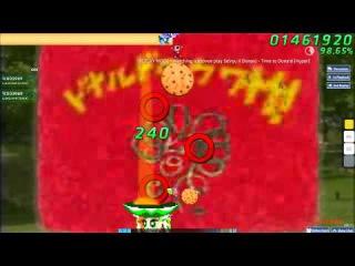 Walkthrough Osu (CTB) beatmap Time to Donald [Hyper] - (Without Mods)
