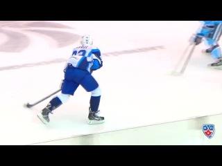 Сибирь - Динамо Минск 2:3 ОТ 17.10