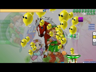 Walkthrough Osu (CTB) beatmap Legend of Zelda [Easy] - (NC)