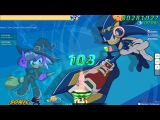Walkthrough Osu (CTB) beatmap Sonic Speed Riders [Med-High] - (Without Mods)