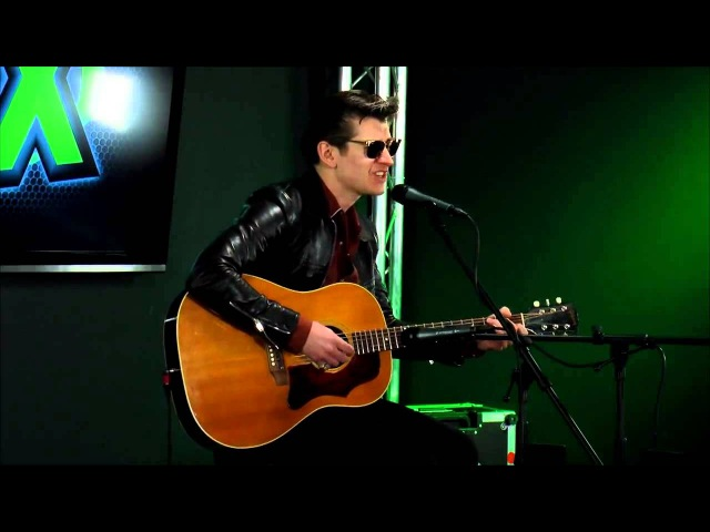 Arctic Monkeys - Why'd You Only Call Me When You're High ? - Acoustic @ 97X Green Room