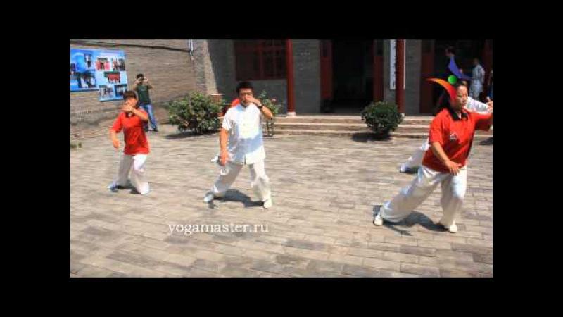 Комплекс тайцзи-цюань, стиль Ян в исполнении мастеров школы Ян Лучаня