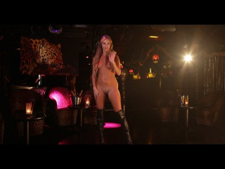 Natasha Anastasia dancing Disco in the Leopard room at Stringfellow's Angels London