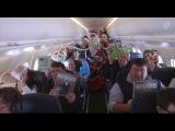Spreading Christmas cheer through New Zealand skies