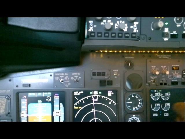 Мой домашний кокпит BOEING 737-800 NG