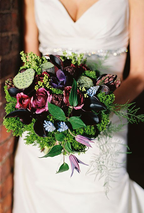 QVdpV6jHbpE - Зимние свадебные букеты 2015-2016