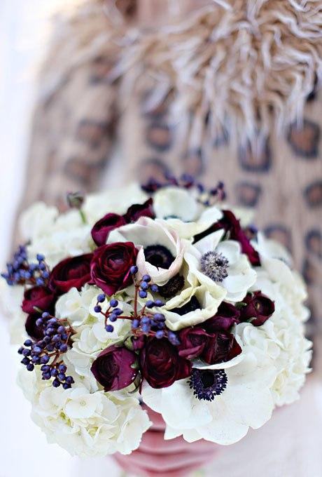 6ygaQRIEMa8 - Зимние свадебные букеты 2015-2016