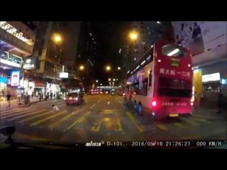 Little Girl Hit by Taxi After Running Into Busy Hong Kong Traffic