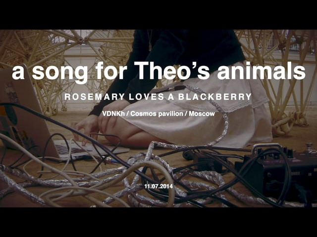 Rosemary loves a blackberry — a song for Theo's animals