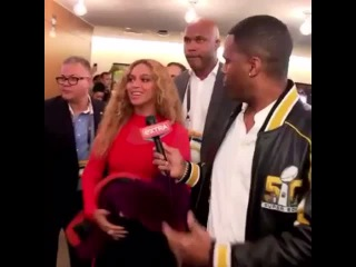 Beyonce dishes on her Super Bowl performance!