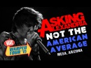 Asking Alexandria Not The American Average with Denis Stoff LIVE Vans Warped Tour 2015