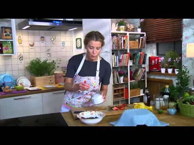 Завтрак с Юлией Высоцкой - Кускус с ягодами