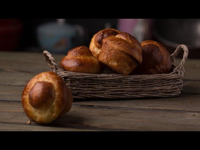 Классическая Бриошь (или Булка для Бургеров) || Bread Butter || Хлеб и Выпечка на FOOD TV