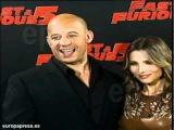 Elsa Pataky y Vin Diesel presentan Fast Furious