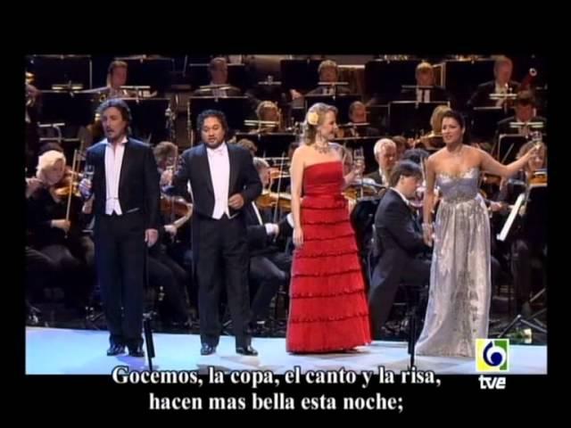 Anna Netrebko Elina Garanca Ramon Vargas L Tezier La Traviata