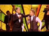 Robbie Williams &amp Olly Murs with