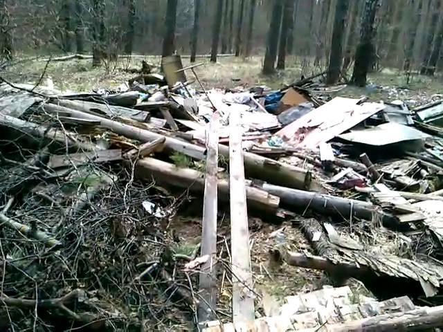 Выходной в лесу 28.04.16г. Свалки. (2 часть)