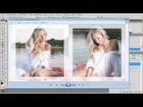 1Как создать фотокнигу в Adobe Photoshop.Урок №7.Подготовка 4 и 5 разворота фотокниги.(Сергей Патин)\\11