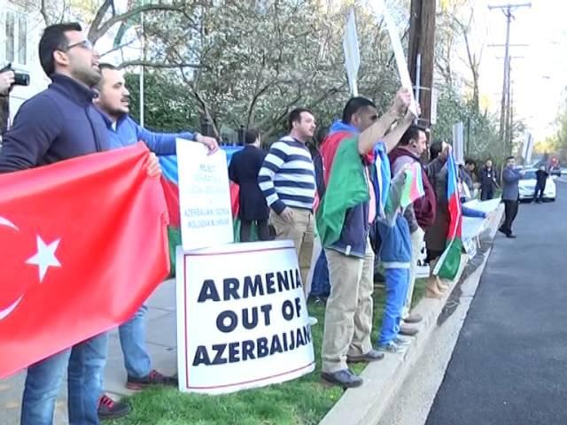 ABŞ aksiya. Azəerbaycan - erməni | vk.com/mehelle
