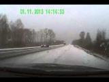 Массовая авария ДТП в Алтайском крае 01 11 2015