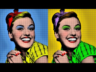 Photoshop: How to Make a Warhol-style, Pop Art Portrait from a Photo!