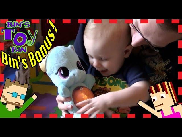BIN'S BONUS - My Little Pony Rainbow Dash Glow Pony Plush Playskool Friends | Bin's Toy Bin