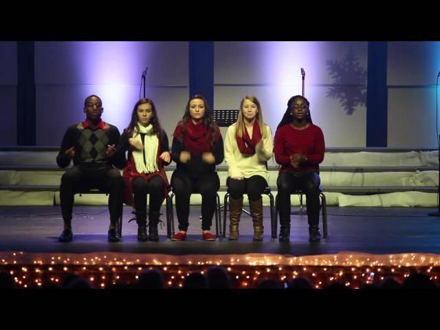 MCHS- Pentatonix cover-White Winter Hymnal