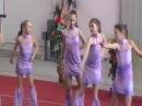 Девочки гимнастки -танцуют~Girls gymnast~Kiev/26.04.2013/