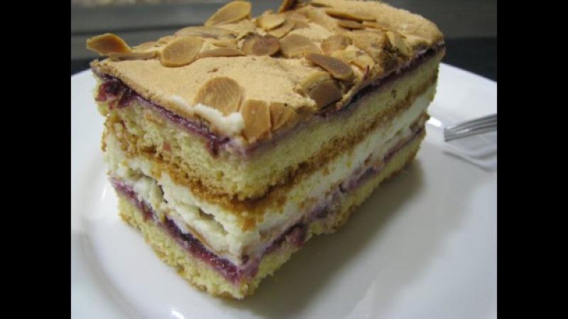 Торт Пани Валевская | Placek Pani Walewska | Cake Pani Walewska | Самый вкусны торт