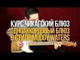 Одноаккордовый блюз в стиле Мадди Уотерса - Курс Чикагский Блюз - Уроки игры на г ...