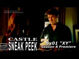 """Castle 8x01 Sneak Peek # 2 """"XY"""