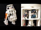 XRobots - 3D Printed Star Wars R6 Droid Part 9, Electronics with Arduino