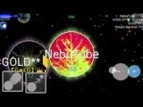 Nebulous Survival Solo # 2 (Epic Fails In The End)(Hunger Games) (agar agario agar.io world record)