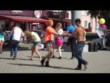 Барнаул. Танцы от студии DEF. Нулевой километр. 01.08.2015.