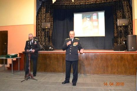 Ветераны пограничной службы приняли участие в проведении Уроков мужества с Озерскими школьниками