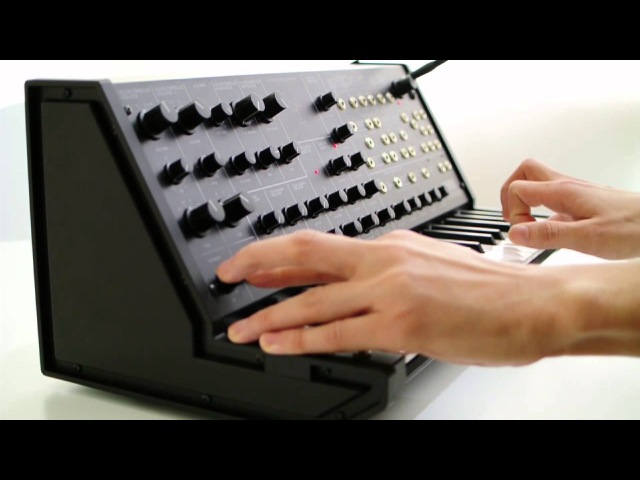 Getting to know the Korg MS-20 Mini -- OverviewTutorial -- Part 1
