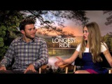 THE LONGEST RIDE Interviews: Scott Eastwood, Britt Robertson, Oona Chaplin and Alan Alda