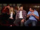 Cinemark Interviews The Longest Ride - Nicholas Sparks, Scott Eastwood, and Britt Robertson