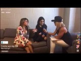 FIFTH HARMONY INTERVIEW: ALLY AND CAMILA ON PERISCOPE [Janet Snyder - Kiss 98.5]
