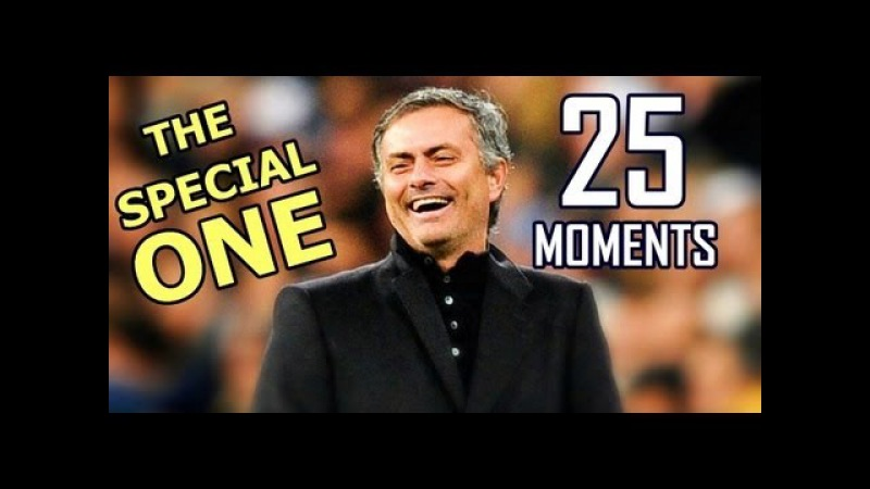 Jose Mourinho 25 Funny Moments