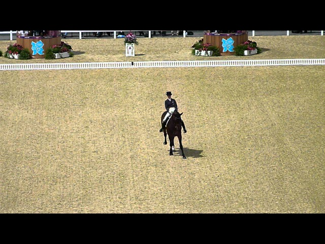 London Olympics 2012 Grand Prix Dressage Victoria Max Theurer Individual Dressage on Augustin