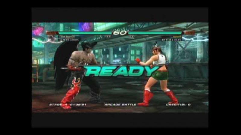 Tekken 6 Gameplay part 1