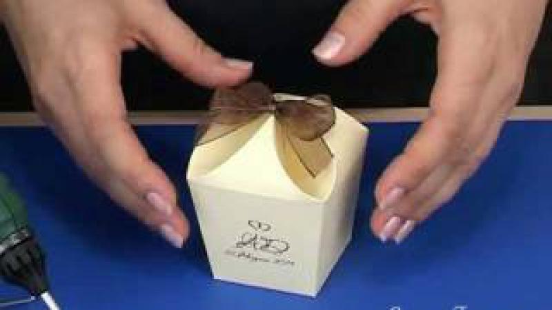 Как сделать коробочку (схема на: www.svadbahit.ru)