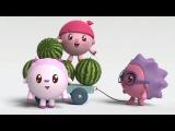 Малышарики - 6 серия - Башня -  обучающие мультфильмы для малышей 0-4