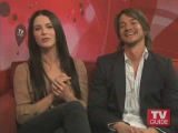 Craig Horner and Bridget Regan on TVGuide Part 2