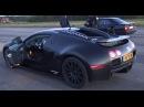 BMW M5 E34 Turbo 900 RWHP by AG vs 1001 HP Bugatti Veyron Dutchbugs