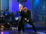 Lara Fabian &amp Johnny Hallyday - Requiem Pour Un Fou (Enfoires en coeur - 1998).wmv
