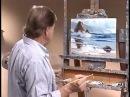 видеоурок живопись маслом море отражение в воде