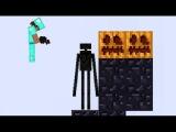 Майнкрафт - Minecraft обзор игры для детей про Бумажный Майнкрафт [4]