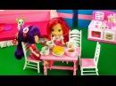Мультфильмы для девочек! Куколки! Земляничка с Вишенкой на кухне.